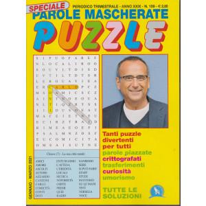 Speciale Parole Mascherate puzzle - n. 109 - trimestrale - gennaio - marzo 2021