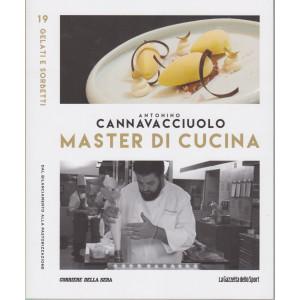 Master di Cucina - Antonino Cannavacciuolo - n. 19  -Gelati e sorbetti - Dal bilanciamento alla pastorizzazione -   settimanale -