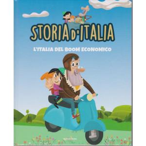 Storia d'Italia -L'Italia del boom economico   - n. 41   -25/5/2021 - settimanale - copertina rigida