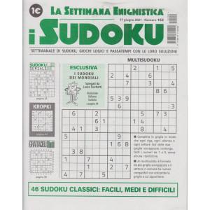 La settimana enigmistica - i sudoku - n. 152 - 17 giugno 2021 - settimanale