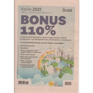 Bonus 110% - aprile  2021 - n. 2 - mensile -