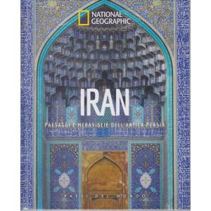National Geographic - Iran - Paesaggi e meraviglie dell'antica Persia  n. 32- 9/4/2021 - settimanale - copertina rigida