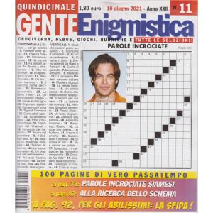 Gente enigmistica - n. 11 - 10 giugno 2021 - quindicinale - 100 pagine di vero passatempo