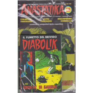 Anastatika +   Diabolik - n. 28 - L'eredità di sangue- settimanale - 2 fumetti