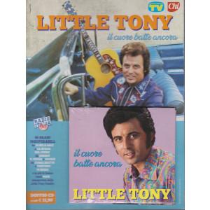 Cd Sorrisi Canzoni -n. 7-   Little Tony - Il cuore batte ancora -  aprile 2021-  settimanale