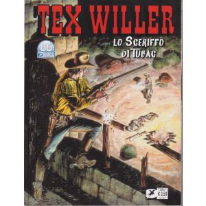 Tex Willer -Lo sceriffo di Tubac - n. 35  - settembre   2021 - mensile