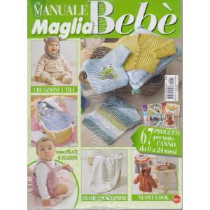 Più maglia bebè manuale - n. 1 - bimestrale - agosto - settembre 2021 - 2 riviste