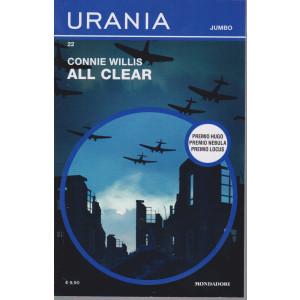 Urania Jumbo -Connie Willis -  All clear - n. 22-  mensile -agosto 2021 - 761 pagine