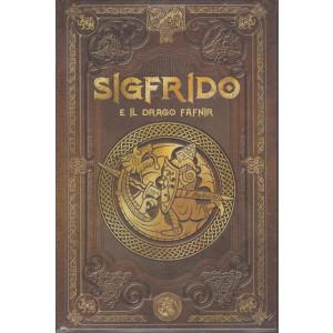 Mitologia Nordica-Sigfrido e il drago Fafnir  -  n. 22 - settimanale - 26/2/2021- copertina rigida