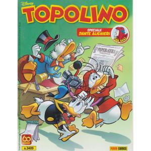 Topolino - n. 3409 - settimanale -24  marzo 2021