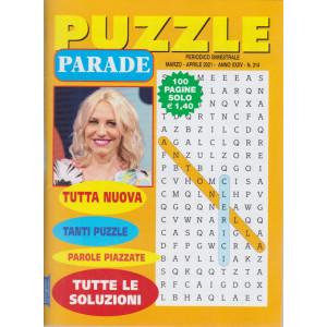 Puzzle Parade - n. 314 - bimestrale - marzo - aprile 2021- 100 pagine