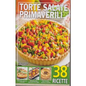 Torte salate primaverili  - n. 212 -2/3/2021- 38 ricette
