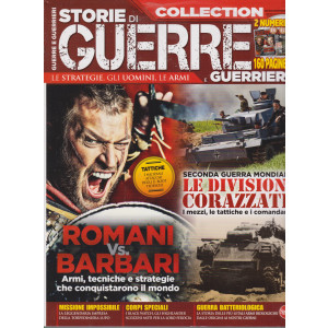 Storie di guerre e guerrieri  collection - n. 7 - bimestrale - giugno - luglio 2021 - 2 numeri