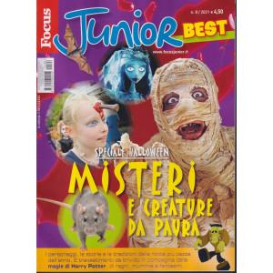 Focus Junior best - Speciale Halloween. Misteri e creature da paura-  n. 8 -  5/102021- mensile