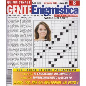 Gente Enigmistica - n. 8 - 23 aprile  2021 - quindicinale - 100 pagine di vero passatempo
