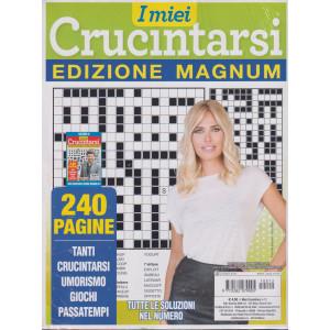 I miei crucintarsi - edizione magnum - n. 12 - ottobre - novembre - dicembre 2021 - trimestrale -  240 pagine