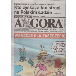 Angora - n. 22 - 24-30-5-2021- in lingua polacca