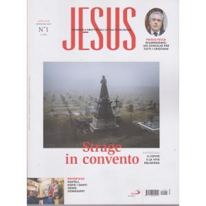 Jesus - n. 1 -Strage in convento -  gennaio 2021-