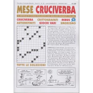 Mese Cruciverba - n. 34- mensile - maggio  2021