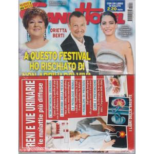 Grand Hotel   - n. 9  - settimanale - 26 febbraio  2021 -+ Il libro della salute -  Reni e vie urinarie - Le malattie più diffuse - rivista + libro