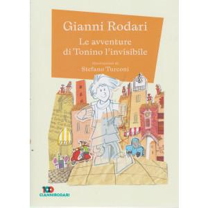 Gianni Rodari -Le avventure di Tonino l'invisibile-   n. 24 - settimanale - 55 pagine   pagine