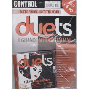 Saifam Music Control - Duets - I grandi artisti italiani - n. 3 - rivista + cd - giugno - luglio 2021- bimestrale