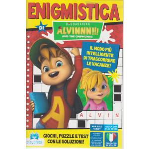 Enigmistica di Alvinnn!!!  - And the chipmunks - n. 12 -giugno - luglio  2021- bimestrale
