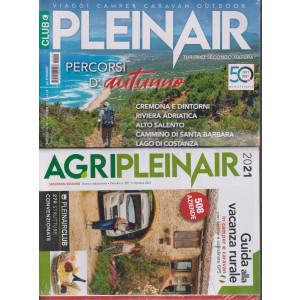 Plein Air - n. 591 - mensile -Ottobre 2021 - + Agripleinair 2021 - Guida alla vacanza rurale - 2 riviste
