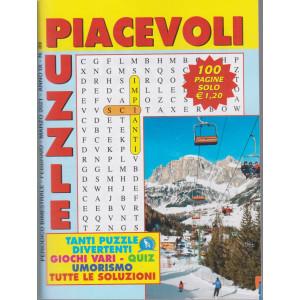 Piacevoli Puzzle - n. 39 - bimestrale - febbraio - marzo 2021 - 100 pagine