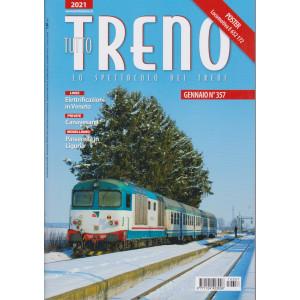 Tutto Treno - n. 357 - gennaio 2021 - mensile