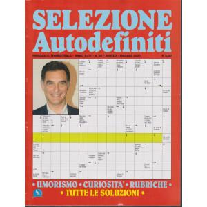 Selezione Autodefiniti - n. 95 - trimestrale  marzo - maggio 2021-