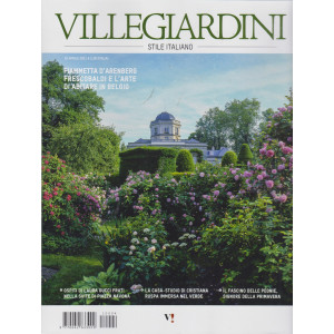 Villegiardini - Stile italiano - n. 4  -16 aprile  2021 - mensile