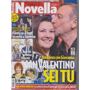 Novella 2000  - + Visto - n. 8 - settimanale - 11 febbraio 2021- 2 riviste