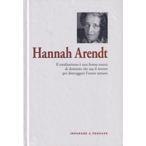 Imparare a pensare -Hannah Arendt- n. 34 - settimanale -16/9/2021 - copertina rigida