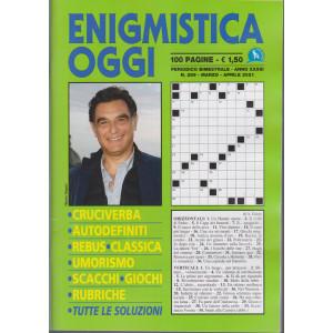 Enigmistica Oggi - n. 289 - bimestrale - marzo - aprile  2021 - 100 pagine