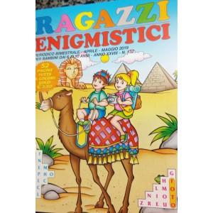 Ragazzi Enigmistici - n. 132 - bimestrale - aprile - maggio 2019 - per bambini dai 6 ai 10 anni - 52 pagine tutte a colori