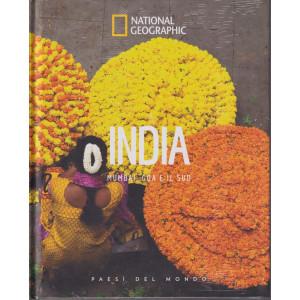 National Geographic  -India - Mumbai, Goa e il sud  -n. 58  - 8/10/2021 - settimanale - copertina rigida