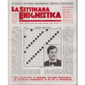 La Settimana Enigmistica - n. 4638 - 11/2/2021 - settimanale