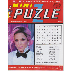 Minipuzzle - n. 545 - marzo 2021 - mensile