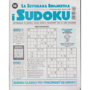 La settimana enigmistica - i sudoku - n. 126 - 17 dicembre 2020 - settimanale