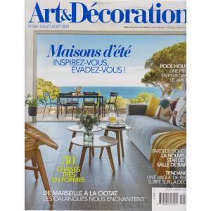 Art &  Decoration - n. 560  -Giugno - agosto  2021 - mensile - in lingua francese