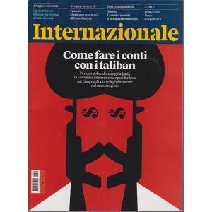 Internazionale - n. 1424 -27 agosto/ 2 settembre     2021 - settimanale -
