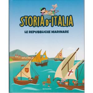 Storia d'Italia -Le Repubbliche marinare - n. 21- 5/1/2021 - settimanale - copertina rigida