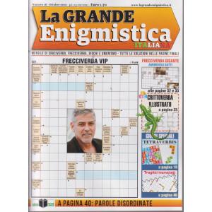 La Grande enigmistica italiana - n. 16 -ottobre 2021 - mensile
