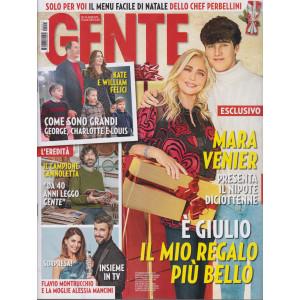 Gente - n. 51 - settimanale - 29/12/2020