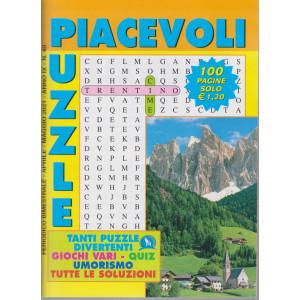 Piacevoli Puzzle - n. 40 - bimestrale -aprile - maggio  2021 - 100 pagine