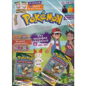 Pokemon  magazine- n. 4 - 15 ottobre 2021 - bimestrale   + in regalo 6 carte del GCC Pokemon