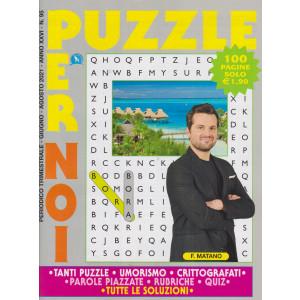 Puzzle per noi - n. 95 - trimestrale - giugno - agosto 2021 - 100 pagine