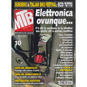 Mtb Magazine - n. 10 - mensile -ottobre  2021