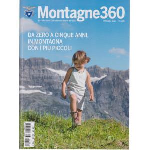 Montagne 360 - n. 104 - maggio  2021 - mensile -